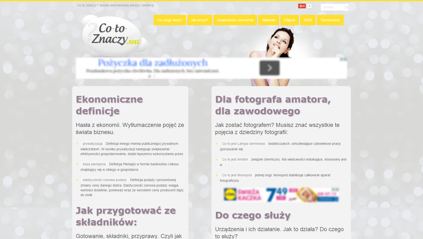Project Co-To-Znaczy.eu