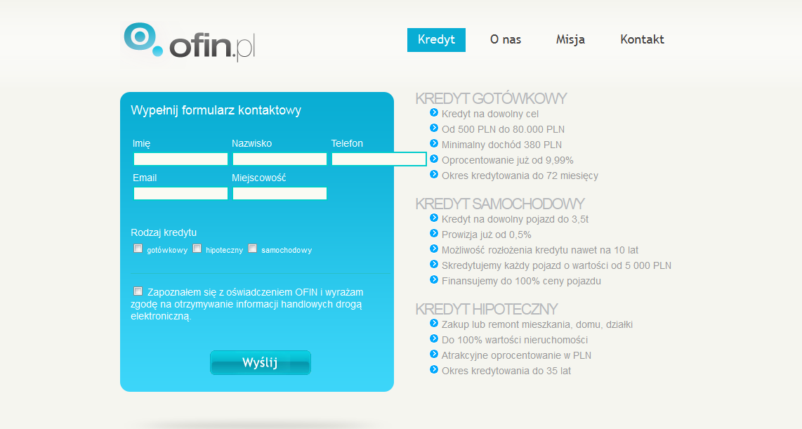 Project Ofin.pl