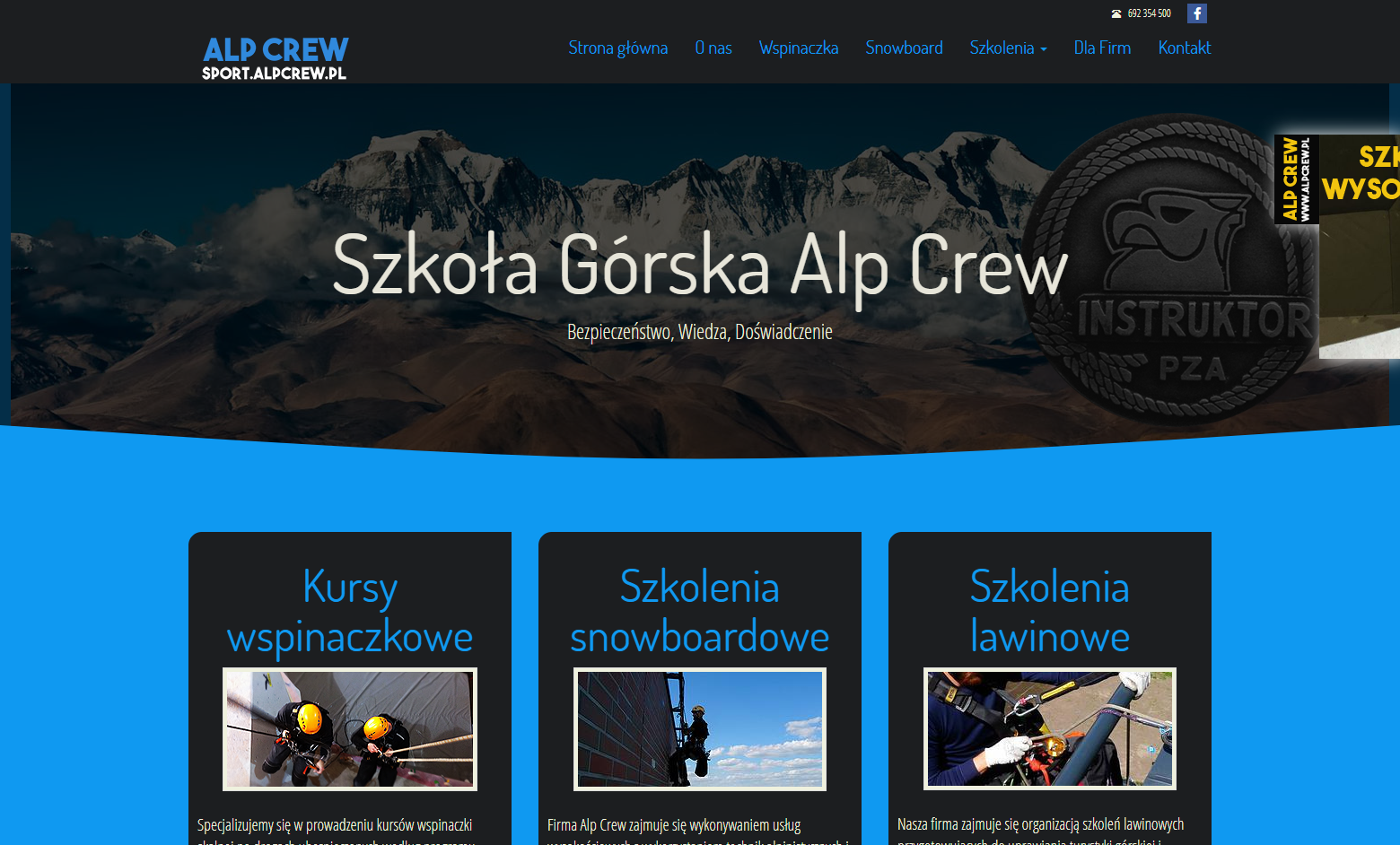 Project Sport na AlpCrew.pl