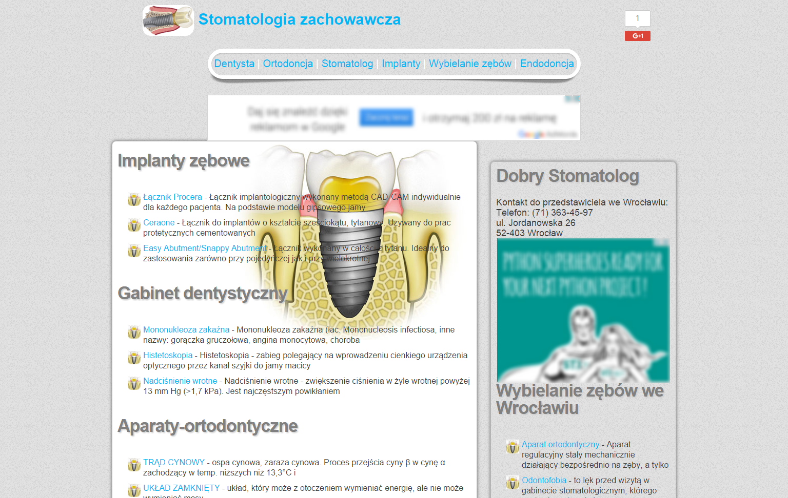Project Stomatolog-Dentysta.com